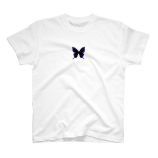 ダークネスな蝶 T-shirts