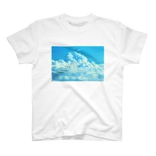 蒼と雲 T-shirts