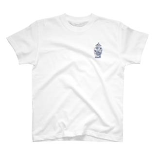 misuzuoyamaの壺とうしろに三人組 T-Shirt