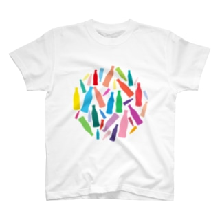 カラフルなコーラのグッズ T-shirts