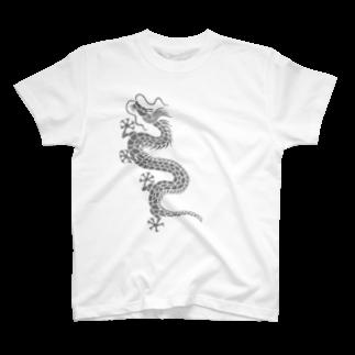 ツバメ堂の昇り龍 T-shirts