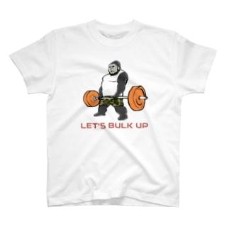 デッドリフトゴリラちゃん T-shirts