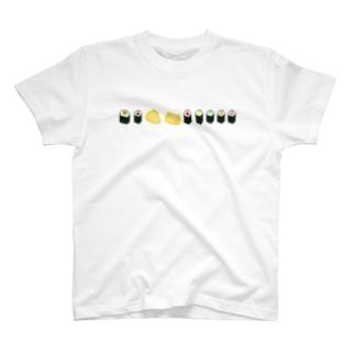 お寿司(太巻き・細巻き・いなり寿司) T-shirts