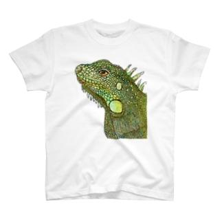 イグアナ T-shirts