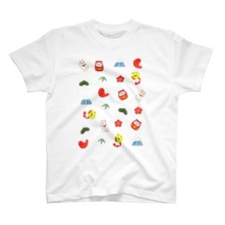 縁起物Mix T-Shirt
