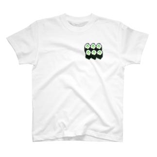お寿司・かっぱ巻き T-shirts