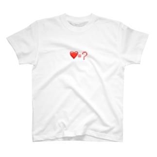 QUESTIONMARKのLove=? T-shirts