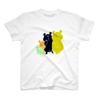 しろくま四兄弟 T-shirts