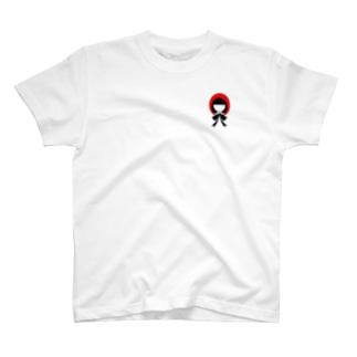 かぶりものシリーズ:赤ずきんちゃん T-shirts
