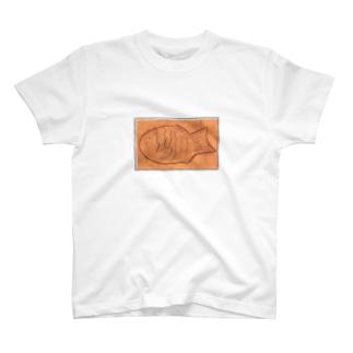 (英字なし)羽つきたいやきくん T-shirts