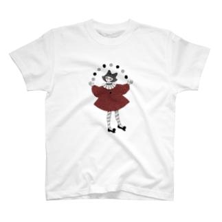 迷路好きピエロ T-shirts