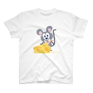チーズはここに!いろいろA T-shirts