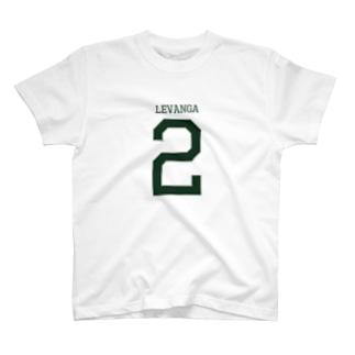 ナンバーTシャツ(#2 真春)淡色 T-shirts