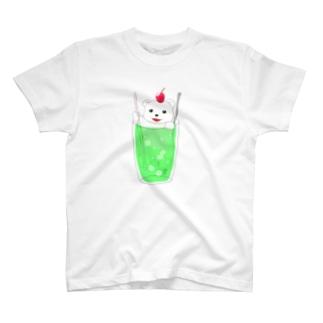 クリームソーダベア T-shirts