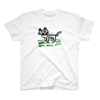 しばキャット屋さんのしばキャットTシャツ T-Shirt