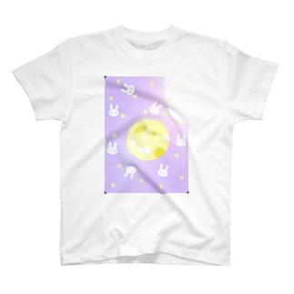 月のうさ T-shirts