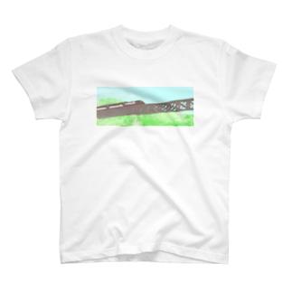 山岳鉄道 T-shirts
