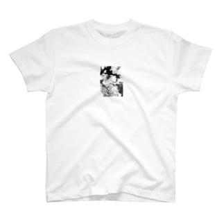 かもふらはんど T-shirts