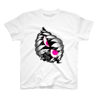 覗くんsimple T-shirts