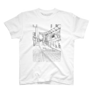 街角 T-shirts