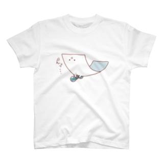 運動するもめん T-shirts