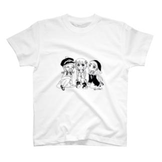 御三家 T-shirts