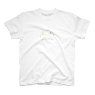 半月ペンギン T-shirts