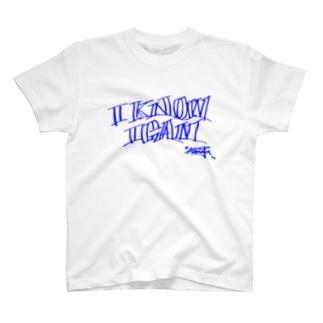 I know I can 【blue line】 T-shirts