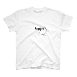 Hexagon T-shirts
