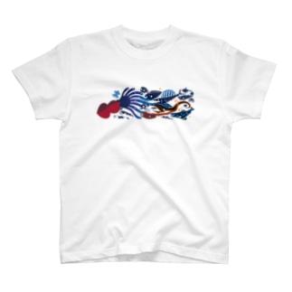 深海魚B T-shirts