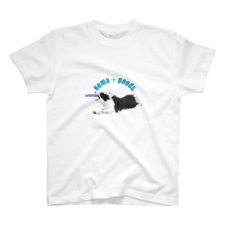 フルオーダーTシャツC両面違印刷サンプル T-shirts