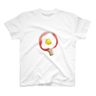 めだまやきラケット T-shirts
