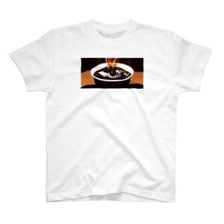 100円コーヒー T-shirts