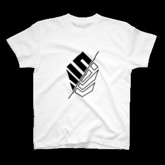 𝙎 𝙇 𝙋 ☻のSLP/ + TRUST  BU/れど確認せよ【ブラックロゴ両面印刷】 T-shirts