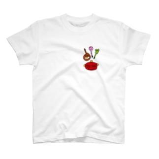 仲よし四人組 T-shirts