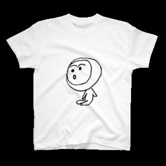 煮玉子ちゃんの煮玉子おどろき T-shirts