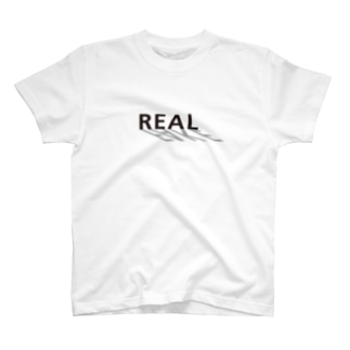 REAL ON FAKE T-shirts