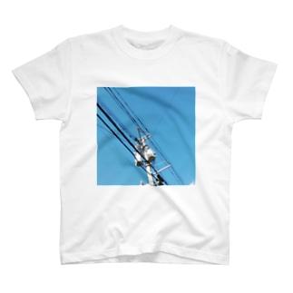 電線 T-shirts