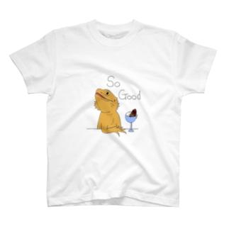 フトアゴヒゲトカゲくん T-shirts