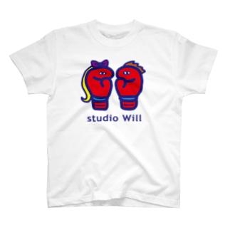 studio Will×INGRID オリジナルTシャツB  T-shirts