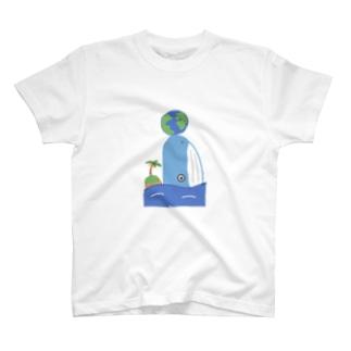 地球の外側Tシャツ T-shirts