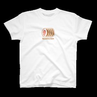 PokuStarのボンレスハム T-shirts