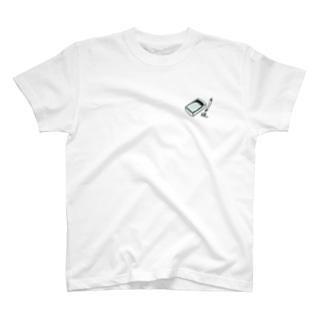 書道の道具 硯 T-shirts