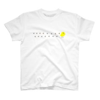 アトリエみやまのひよこピョコピョコ T-shirts