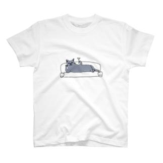 """ネコ """"VITA"""" T-shirts"""