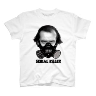 シリアルキラーロゴマークTシャツ T-shirts