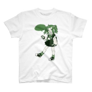 ののきのこ*のLISTEN GIRL T-shirts