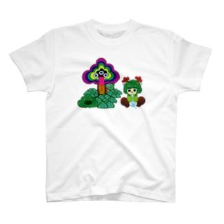 ピュティラムとモックン T-shirts