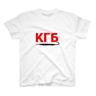 KGB×傘2 T-shirts