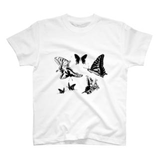 蝶々🦋蝶々🦋蝶々🦋蝶々 T-shirts